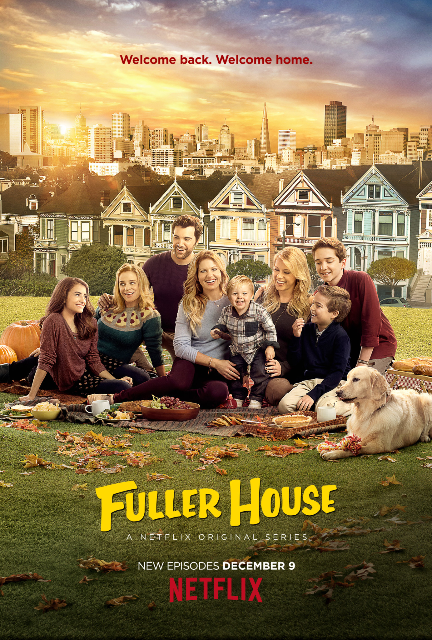 Key Art for Season 2 of Fuller House