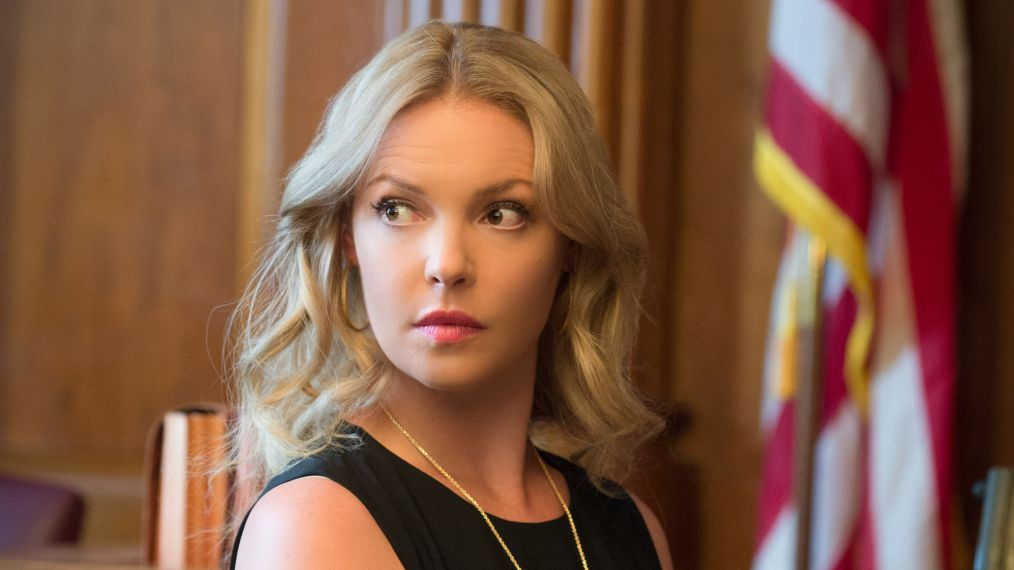 Katherine Heigl Posts First Pic as New 'Suits' Character