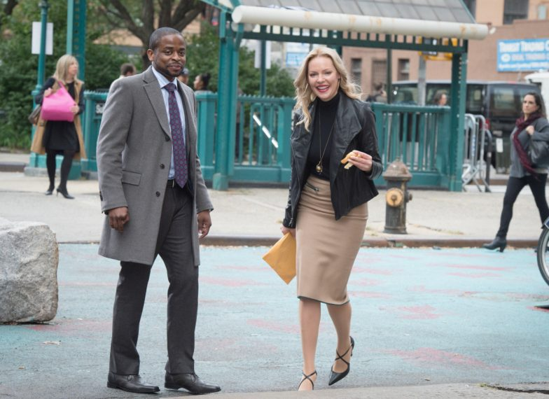 Dule Hill and Katherine Heigl
