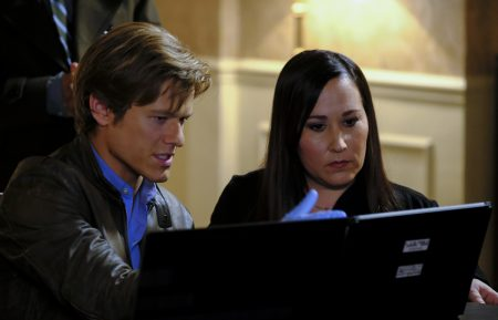 Lucas Till and Meredith Eaton