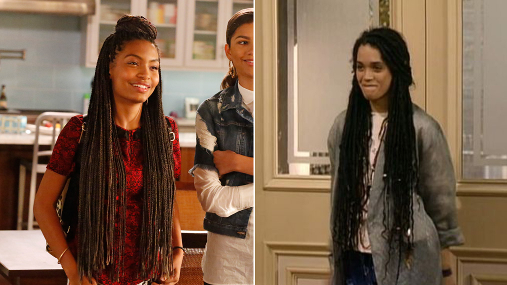 Fashion Face-Off: 'black-ish''s Zoey Johnson vs. 'A Different World''s Denise Huxtable