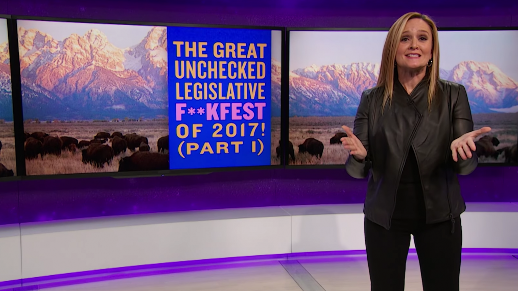 Samantha Bee Takes on Republicans' War on Federal Regulations (VIDEO)