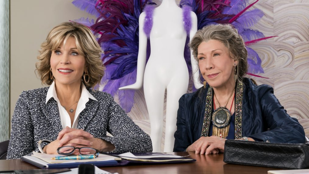 Jane Fonda and Lily Tomlin on the 'Grand Time' Making Season 3 of 'Grace and Frankie'