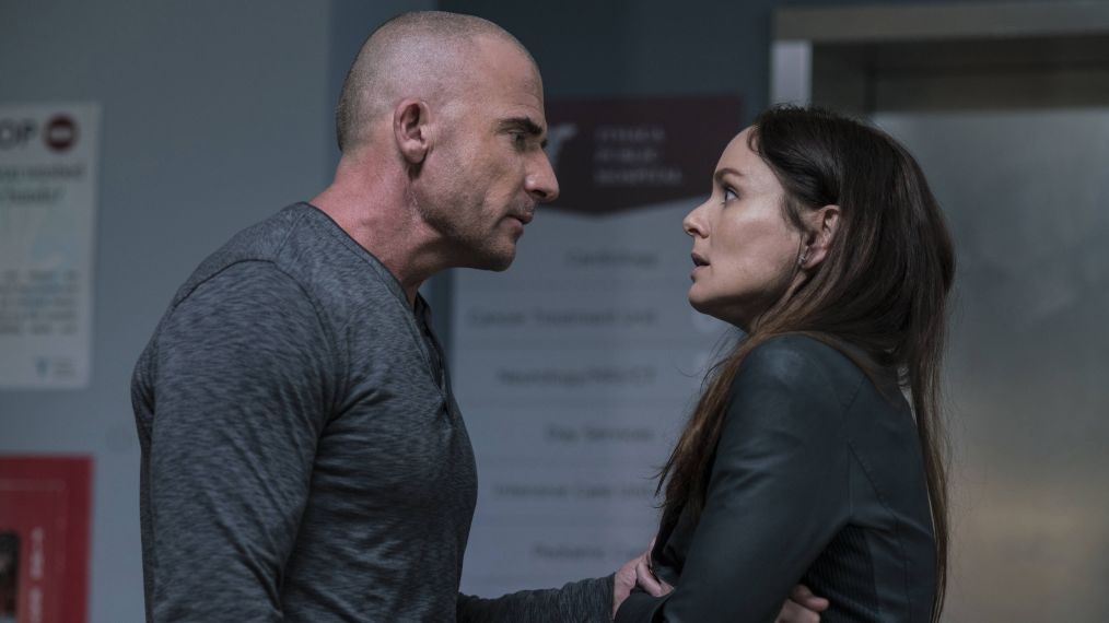 Prison Break - Dominic Purcell, Sarah Wayne Callies