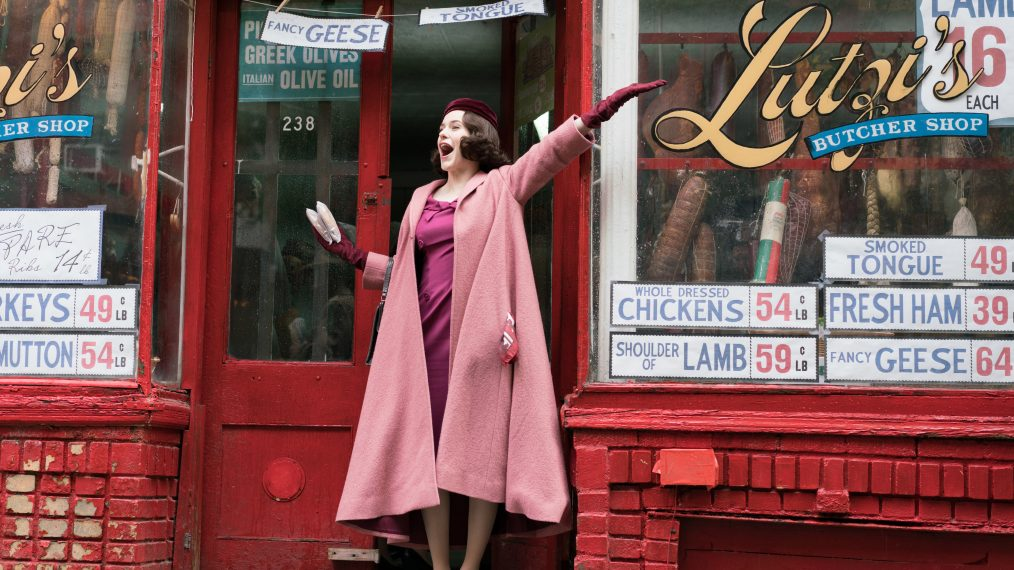 'The Marvelous Mrs. Maisel' Is Basically 'Gilmore Girls' in the '50s