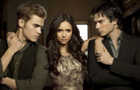 The Vampire Diaries - Paul Wesley, Nina Dobrev, Ian Somerhalder