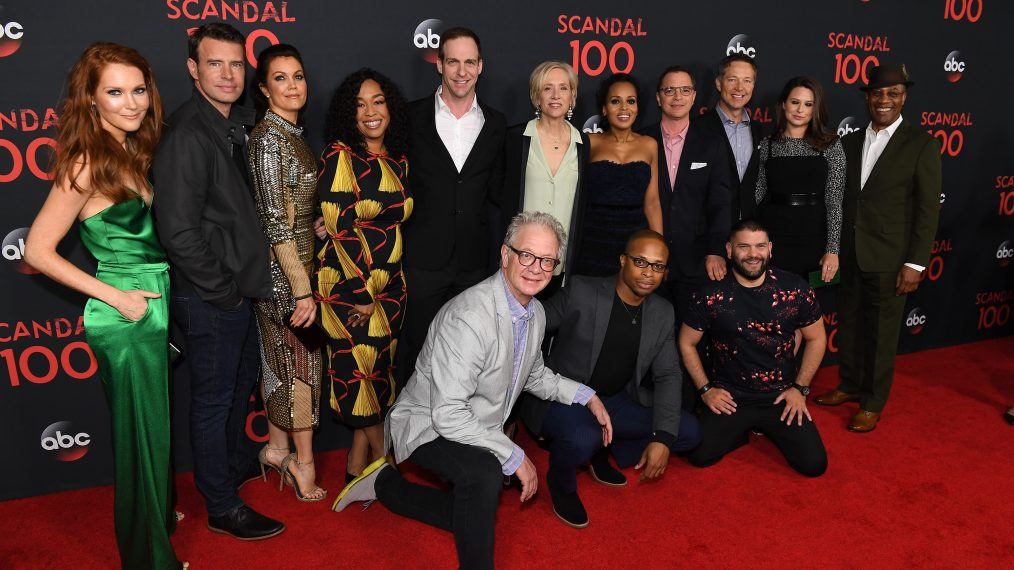 'Scandal' Celebrates 100 Episodes (PHOTOS)