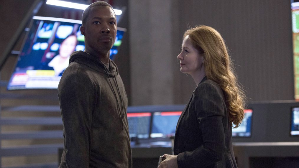 24: Legacy - Corey Hawkins, Miranda Otto; Corey Hawkins and Miranda Otto in the