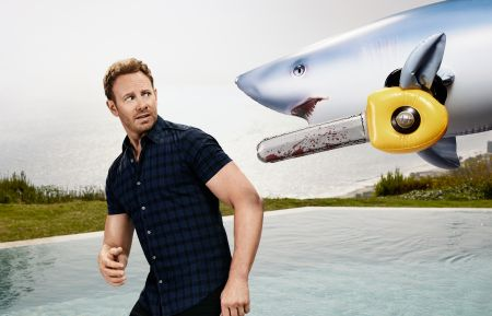 Sharknado 5 - Ian Ziering as Fin Shepard