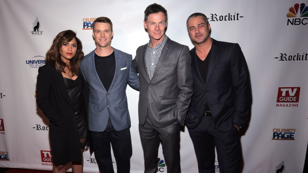 TV Guide Magazine Celebrates Cover Stars Taylor Kinney & Jesse Spencer