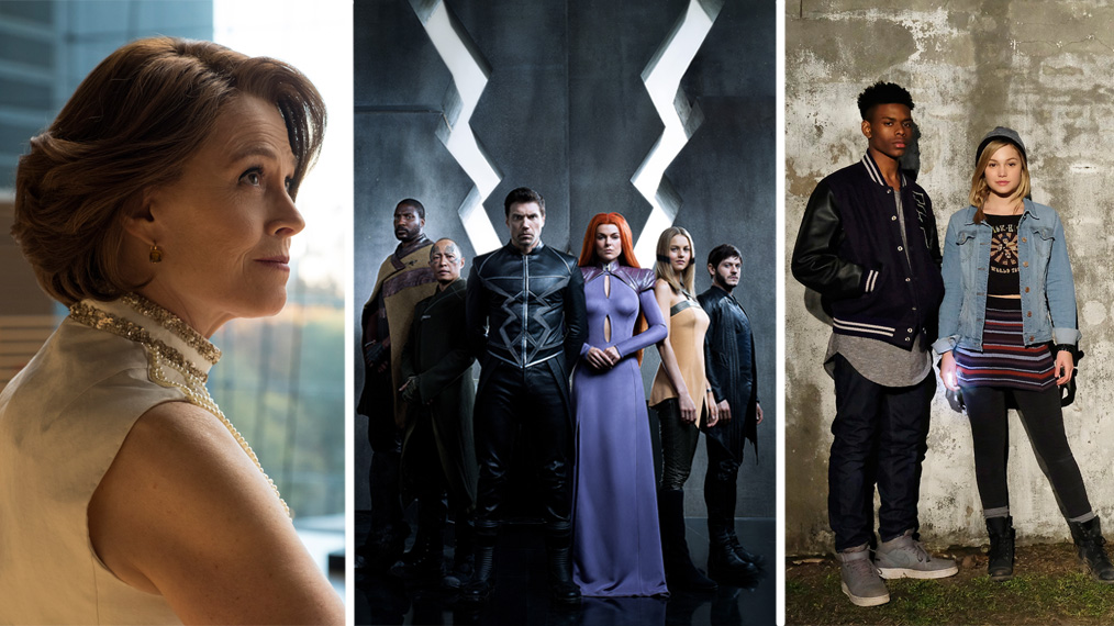 sigourney weaver, inhumans, the defenders, cloak and dagger