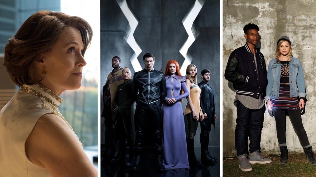 sigourney weaver, inhumans, the defenders, cloak and dagger