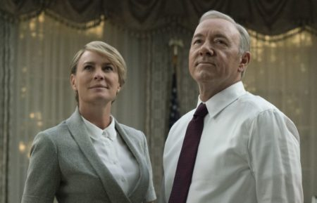 Robin Wright, Kevin Spacey - House of Cards
