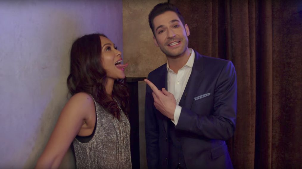 'Lucifer': Tom Ellis and Lesley-Ann Brandt Give a Tour of Club Lux (VIDEO)