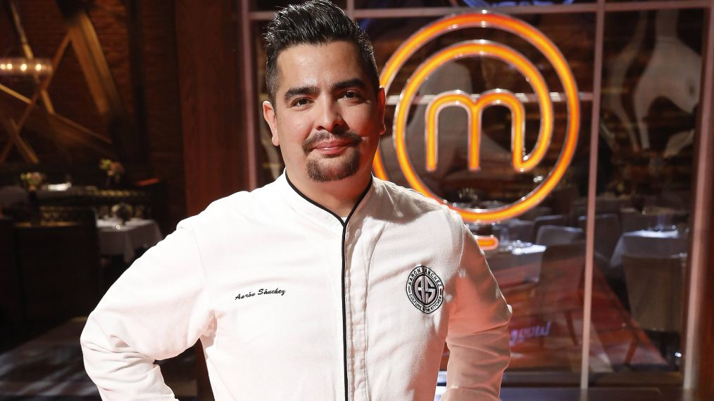 Aarón Sanchez Takes on 'MasterChef' (and Shares a Shrimp Ceviche Recipe!)