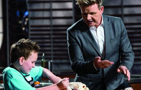 MASTERCHEF - Charlie and Gordon Ramsay
