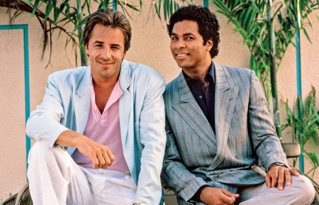 MIAMI VICE - Don Johnson, Philip Michael Thomas