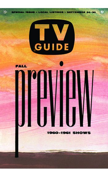 Fall Preview 1960