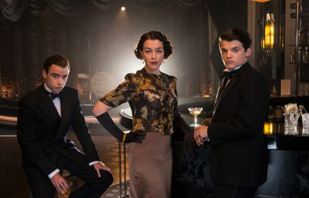 The Halcyon Olivia Williams, Jamie Blackley and Edward Bluemel