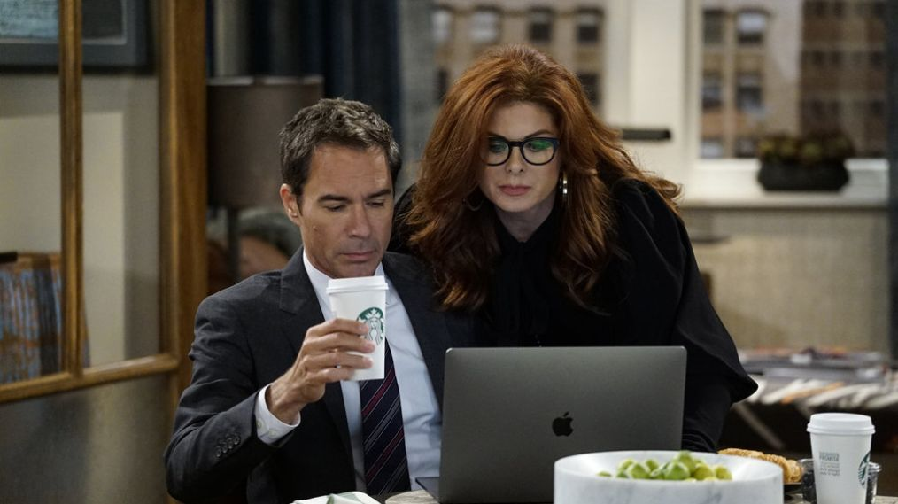 Eric McCormack, Debra Messing - Will & Grace