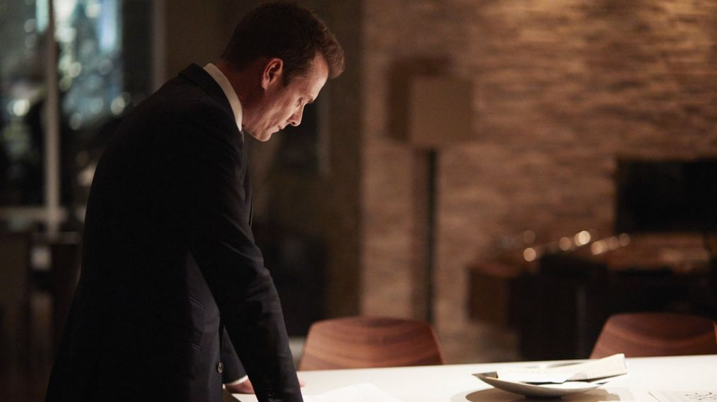 Gabriel Macht on THAT 'Suits' Midseason Finale Moment: 'I'm Game For It!'