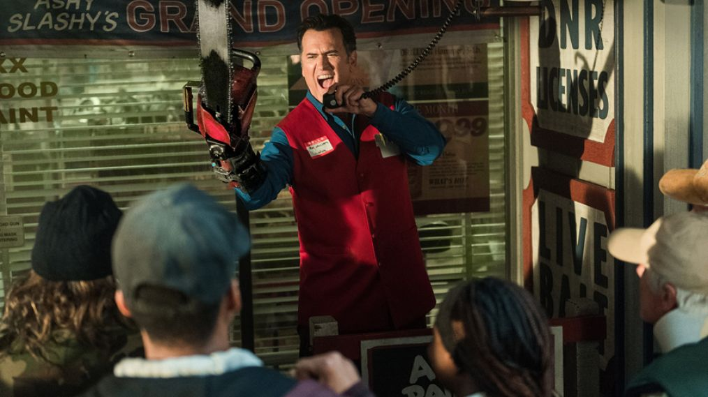 'Ash vs Evil Dead' First Look: Ash Is a Hometown Hero