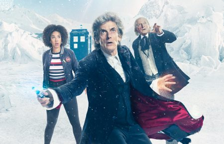 A new look at the upcoming 'Doctor Who' Christmas special, 'Twice Upon a Time'