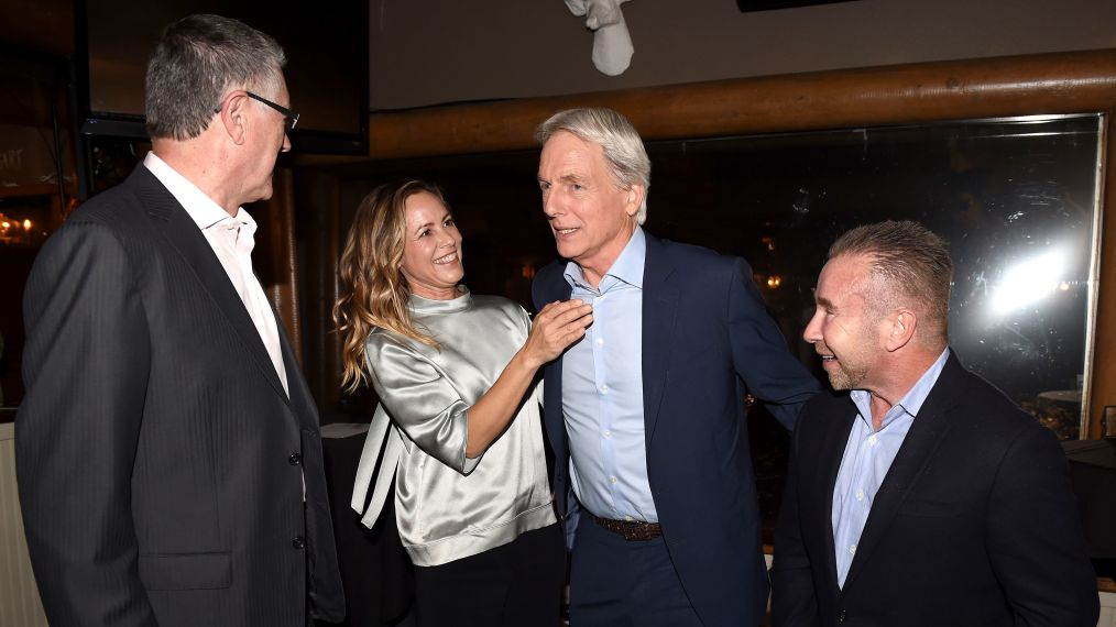 Tony Frost, Maria Bello, Mark Harmon and David Jackson