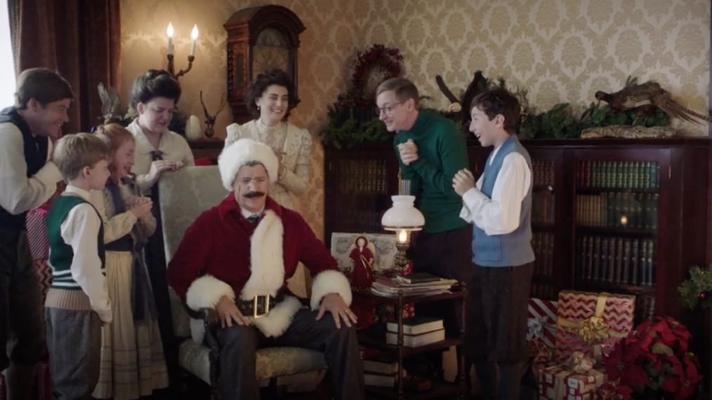 Watch Teddy Roosevelt Vs Christmas Trees In The Drunk