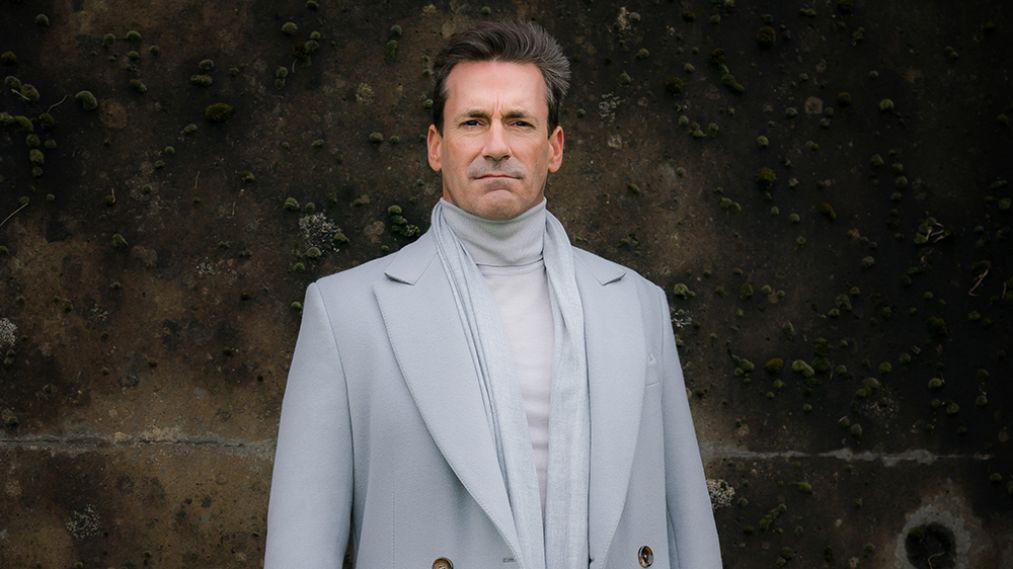Jon Hamm as Gabriel in Good Omens