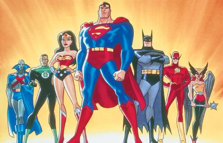Justice League, animated series, 2001, Cartoon Network