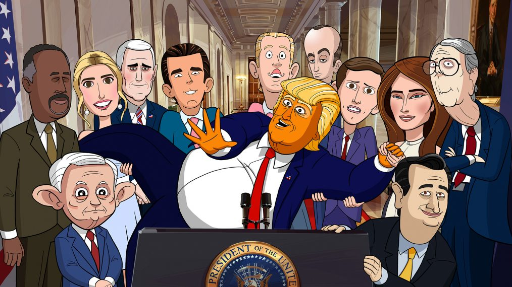 Showtime Releases 'Our Cartoon President' Trailer (VIDEO)