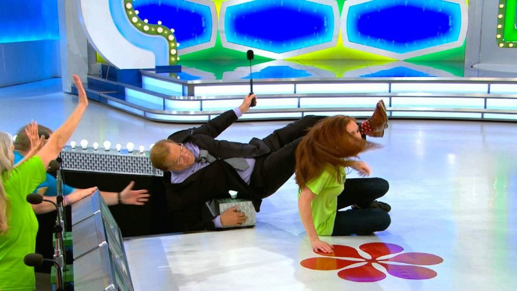 WATCH: Excited Contestant Knocks Over Drew Carey & 4 More of the Funniest 'Price Is Right' Moments