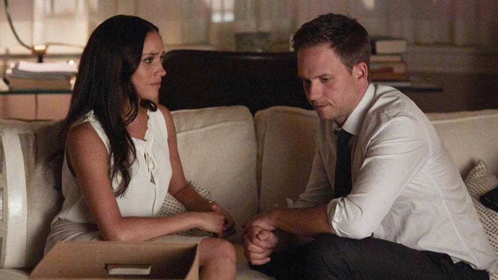 'Suits' Renewed for Season 8, Details on Meghan Markle & Patrick J. Adams' Exits