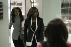 'How to Get Away With Murder'-'Scandal' Crossover: Olivia and Annalise Storm Washington (PHOTOS)