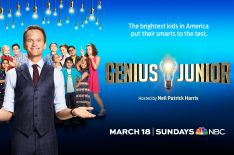 First Look at Neil Patrick Harris' New Show 'Genius Junior' (PHOTO)