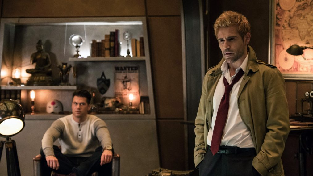 Jeff Weddell  The CW		Nick Zano as Nate Heywood  Steel and Matt Ryan as Constantine in the