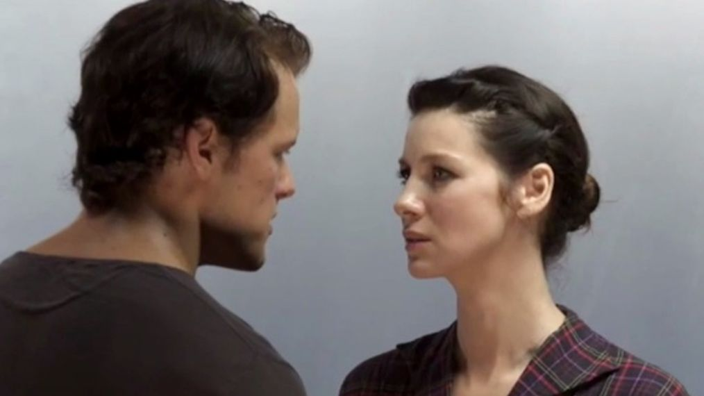 WATCH: Caitriona Balfe's First 'Outlander' Chemistry Test