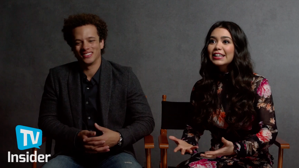 'Rise' Stars Auli'i Cravalho & Damon J. Gillespie Tease the NBC Musical Drama (VIDEO)
