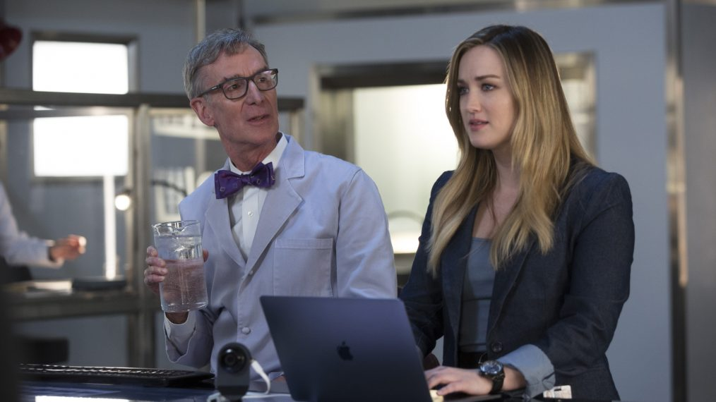 'Blindspot' Star Ashley Johnson Talks Having Bill Nye as Her On-Screen Dad