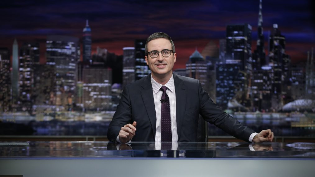 John Oliver Slams Sinclair Broadcast Group for Making Anchors Read the Same Script