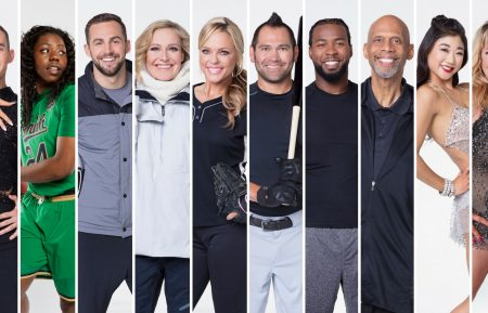 Dancing With the Stars Athletes cast