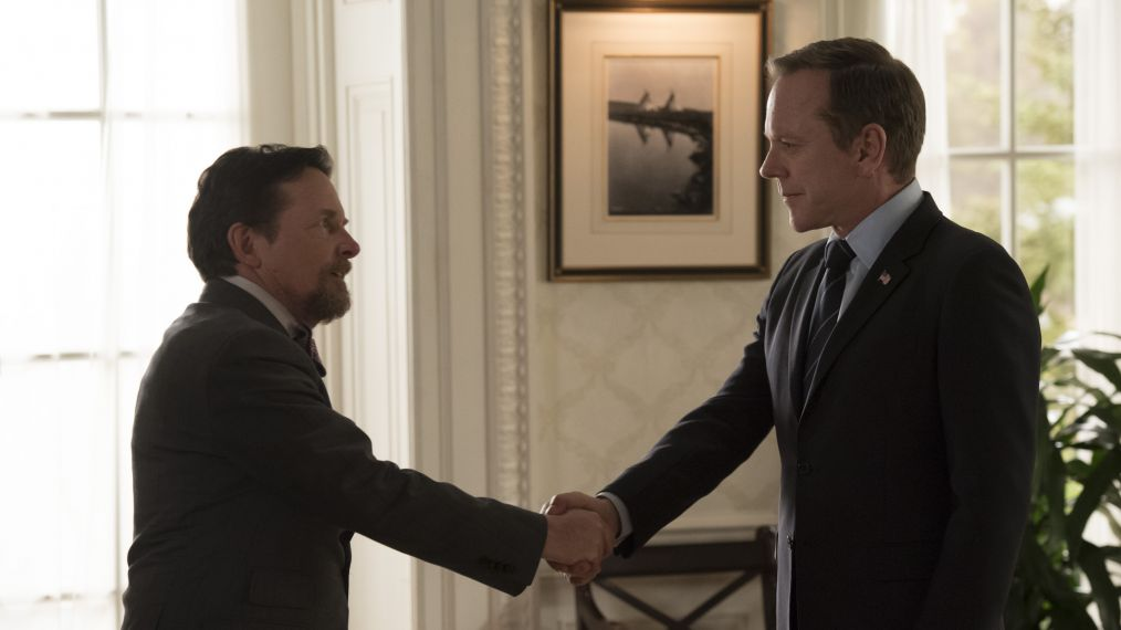 'Designated Survivor': Michael J. Fox & Kiefer Sutherland Reunite 30 Years Later