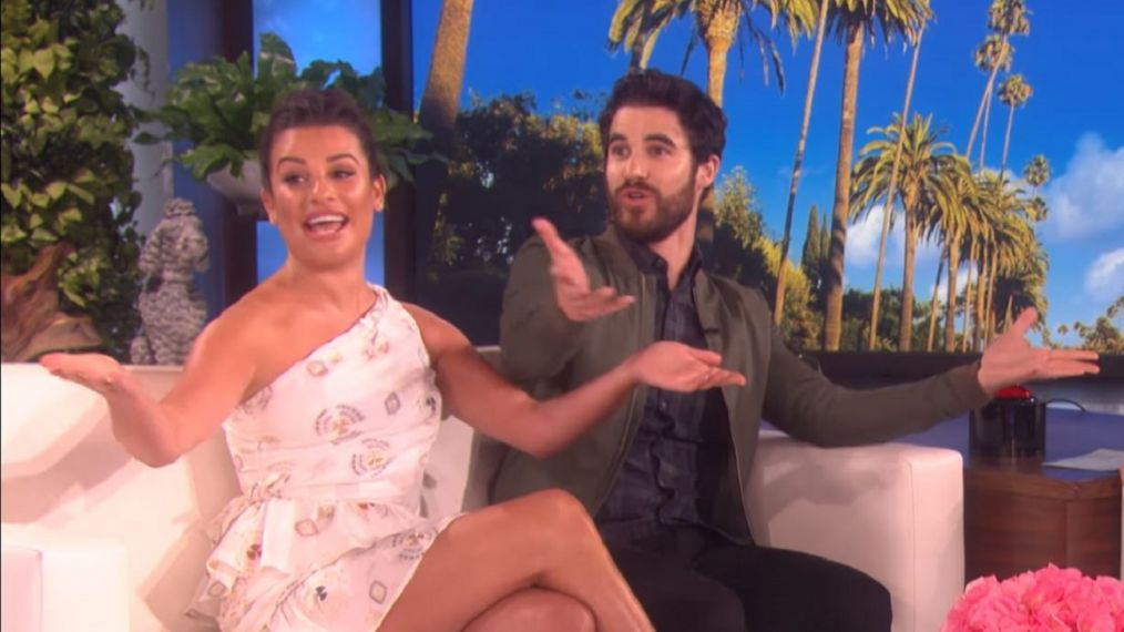 It's a 'Glee' Reunion! Stars Lea Michele & Darren Criss Announce Tour (VIDEO)
