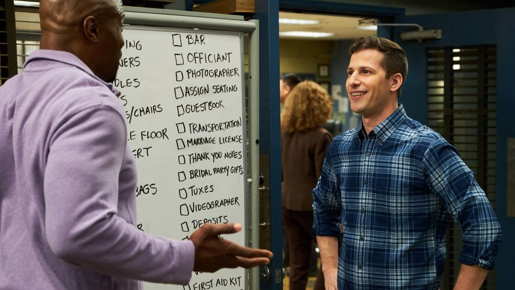 BROOKLYN NINE-NINE - Terry Crews, Andy Samberg