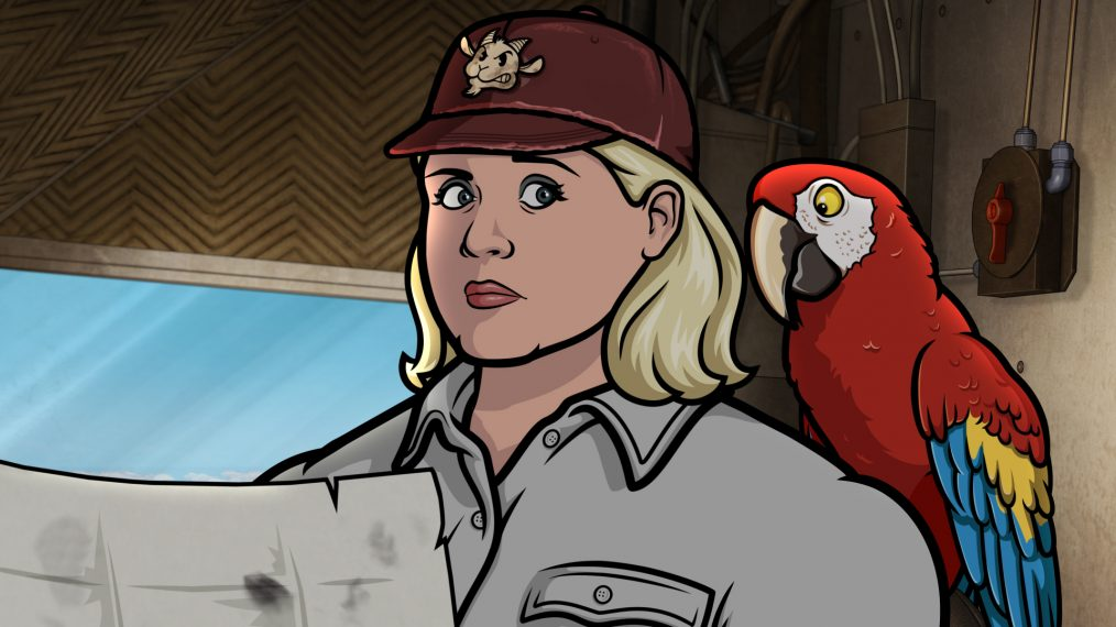 'Archer' Star Amber Nash on the Latest 'Danger Island' Version of Pam
