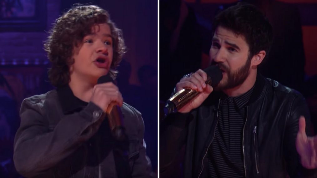 'Drop the Mic': Darren Criss Faces Off With Stranger Things' Gaten Matarazzo (VIDEO)