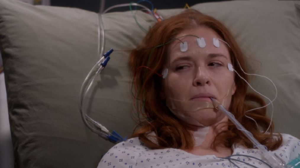 April Survives on 'Grey's Anatomy': See Sarah Drew's Behind-the-Scenes Photos