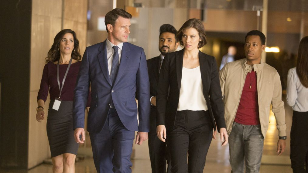 Scott Foley Talks Working With 'In Demand' Lauren Cohan on 'Whiskey Cavalier'