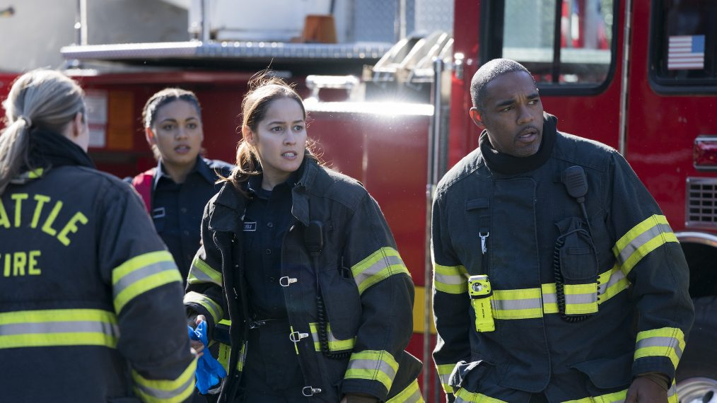 'Station 19' Stars Jason George & Jaina Lee Ortiz Tease Season 2, 'Grey's' Crossovers